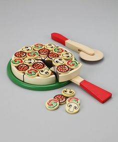 Take a look at this Pizza Party Set by Melissa & Doug on #zulily today!