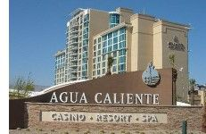 The spectacular Agua Caliente Casino in Rancho Mirage