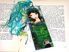In Heaven with my Dog   Laminated Bookmark  Handmade by FlorLarios, $8.00