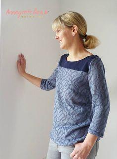 Schnittmuster / Ebook lillesol women No.18 Frühlingskombi Kleid & Shirt / Nähen Kleid & Shirt / Sewing pattern dress & shirt