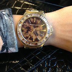 Michael Kors Watch: I want one soooo bad!!!!