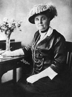 Conoce a las 16 mujeres que han ganado el Premio Nobel de la Paz: 1931: Jane Addams, socióloga y sufragista