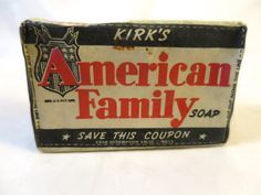 Kirk's American Family Soap Bar 1930's by BonniesVintageAttic