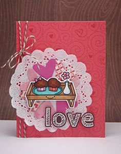 the Lawn Fawn blog: True Stamp + a valentine by Yainea