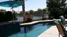 Avondale Vacation Rental - VRBO 398128 - 3 BR Greater Phoenix Area House in AZ, Lake Front Vacation Home W/ Private Heated Pool/Spa