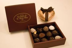 chocolatería el viejo oso de Buenos Aires.  Delicious chocolate in beautiful packaging.  Miss it!