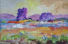 Dam Violet Trees in the Paintings category was listed for on 5 Oct at by Louis Pretorius in Cape Town Landscape Art, South Africa, Original Paintings, African, Canvas, Artist, Workshop, Tela, Atelier