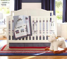 Catalina Fixed Gate 3-in-1 Crib #PotteryBarnKids