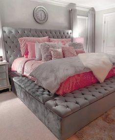 Teen Bedroom Designs, Bedroom Decor For Teen Girls, Room Design Bedroom, Room Ideas Bedroom, Bedroom Furniture, Classy Bedroom Ideas, Decor Home Living Room, Luxurious Bedrooms, Room Inspiration