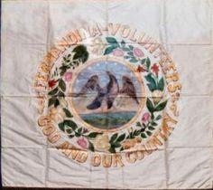 Flag of the Fernandina Volunteers Richard Ferry Military AntiquesHome