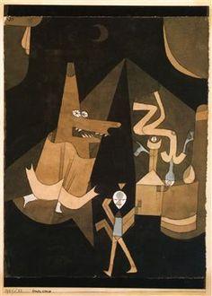 Witch scene - Paul Klee