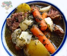 Bone Broth Beef Stew- A healing version of the comforting favorite!
