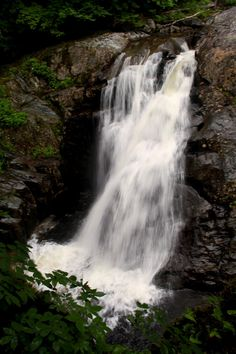 Garfield Falls in New Hampshire, courtesy Rachel Benoit.