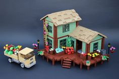 Jack's Flower Shop | A 1960's flower shop inspired by and na… | Flickr