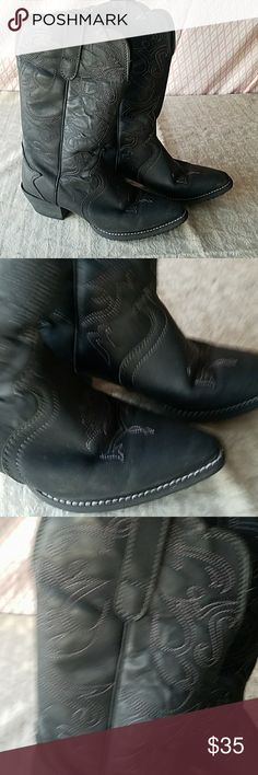 WOMEN'S BOOTS FOR CEEWS,  SIZE 7 !! EXCELLENT USED CONDITION Shoes For Crews Shoes Over the Knee Boots