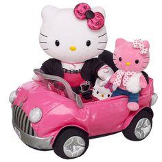 Travelin In Style Hello Kitty® & build-a-bear smallfrys® Pink Hello Kitty® #BearHoliday