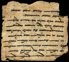 Zoroastrian prayer, the Ashem Vohu. This 9th or 10th century Sogdian manuscript from Dunhuang, China, contains a version of one of the holiest Zoroastrian prayers: the Ashem Vohu, [which originally was composed in the Avestan (old Iranian) language]. It is the oldest existing copy of a Zoroastrian scripture. Written in Central Asia more than 300 years before any other surviving Zoroastrian manuscript. © The British Library Board