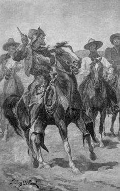 Western book illustration