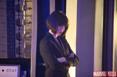 Hope Van Dyne (Evangeline Lilly) contemplates in Marvel's 'Ant-Man,' in theaters July 17