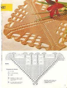 Unit crochet pattern blanket home Crochet Snowflake Pattern, Crochet Motif Patterns, Crochet Chart, Crochet Squares, Thread Crochet, Filet Crochet, Crochet Designs, Crochet Doilies, Crochet Table Runner