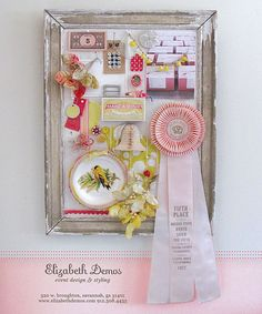 Inspirational board----you should do this for your wedding planning and keepsakes