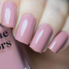 Pastel Pink Nails, Dark Pink Nails, Mauve Nails, Pink Acrylic Nails, Rose Nails, Gel Nails, Dusty Pink Nails, Pink Manicure, Neutral Nails