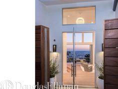 Fleetwood Pivot door 3400-p Sustainable Architecture, Interior Architecture, Interior Design, Pivot Doors, Entry Doors, Modern Entry Door, Powder Room Design, Westlake Village, West Lake