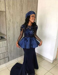 Top South African Shweshwe Dresses for Women , shweshwe dresses ,Sepedi Traditional Dresses, Xhosa Traditional fashion traditional . Sotho Traditional Dresses, Latest Traditional Dresses, African Traditional Wedding Dress, Traditional Fashion, Traditional Outfits, South African Dresses, African Lace Dresses, African Fashion Dresses, African Outfits