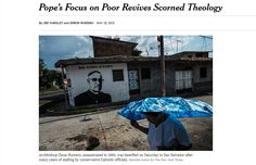 RC Pope Francis, a Jesuit from Latin America, is reviving the worn-out. discredited Liberation Theology, which is merely Cultural Marxism with a veneer of Christian terminology. SEE: http://www.Hosken-News.info/news/article-042.htm