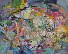 "Saatchi Art Artist Larisa Ilieva; Collage, ""SUNRISE AND PAULO UCCELLO"" #art"