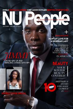 Jimmy  | Double Cover | December/January 2015 #NUPeople