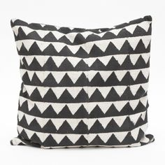 zigzag pillow / Fine Little Day Small Cushions, Outdoor Cushions, Custom Pillows, Decorative Pillows, Decorative Objects, Contemporary Cushions, Motifs Textiles, Perfect Pillow, Home Decor Accessories