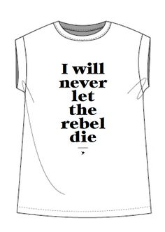 T-SHIRT Graphics for Soft Rebels. Anetmai.