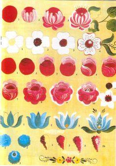 La revista Elsa Serrano - Especial de Bauern 2 - sonia silva - Álbuns da web do Picasa Tole Painting, Fabric Painting, Painting & Drawing, Painting Tips, Watercolor Painting, Folk Art Flowers, Flower Art, Simple Flower Painting, Flower Fairies