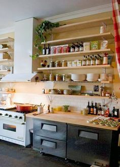 Creative Kitchen Shelving Ideas on creative kitchen sink ideas, creative kitchen backsplashes ideas, creative kitchen countertop ideas,