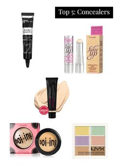 Dark circles? Blemishes? Imperfections? These concealers will hide a multitude of sins!