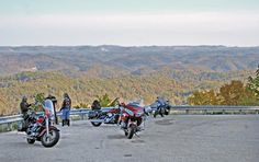 The overlooks along U.S. Route 119 in Eastern Kentucky are a popular place to interrupt the ride and admire the view. Read about motorcycle travel in the area in the September 2013 issue of Rider magazine.