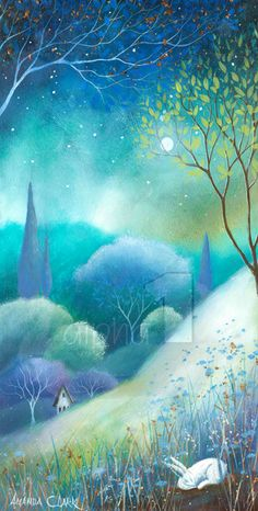 Moonlight & Mist  by Amanda Clark