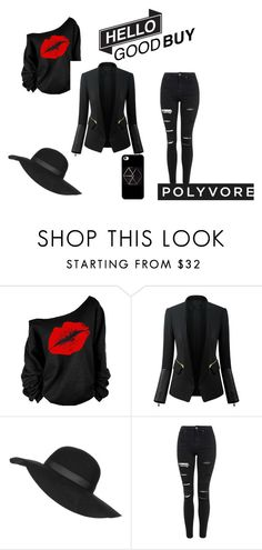 """""""Untitled #2"""" by omer-salkanovic ❤ liked on Polyvore featuring Chicsense, Topshop, women's clothing, women's fashion, women, female, woman, misses and juniors"""