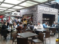 Container City: The Colombian Food Court with Personality Container Food, Container Truck, Container Homes, Colombian Food, Food Court, Dining, City, Personality, Restaurants