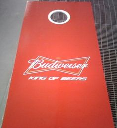 Budweiser Cornhole Board Wraps check out these
