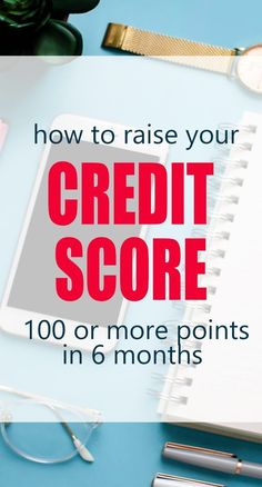 How to Fix Your Credit Score 100 or more points in 6 months - Credit Card Payment - How to calculate credit card payment? - If you want to make a big purchase soon learn how you can raise your credit score 100 or more points quickly. via Life and a Budget What Is Credit Score, How To Fix Credit, Build Credit, Improve Your Credit Score, Raising Credit Score, Boost Credit Score, Vida Frugal, Rebuilding Credit, Credit Repair Companies