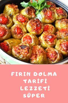 Fırın Dolma Tarifi Sprouts, Potato Salad, Potatoes, Cooking Recipes, Pasta, Vegetables, Ethnic Recipes, Food, Bulgur