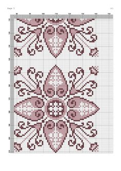 Biscornu Cross Stitch, Cross Stitch Bookmarks, Beaded Cross Stitch, Cross Stitch Borders, Cross Stitch Rose, Cross Stitch Flowers, Cross Stitch Charts, Cross Stitch Designs, Cross Stitching