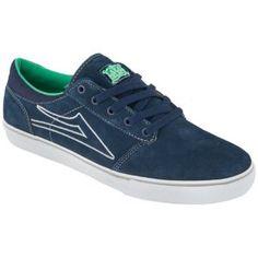 Lakai Brea - Men's - Skate - Shoes - Navy