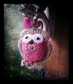 """Crochet owl """"Marshmallow Mary"""""""
