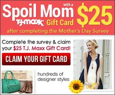 Take the kroger shopping survey and claim your 25 kroger gift card get a 25 tj maxx gift card free for completing survey fandeluxe Image collections