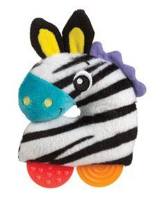 Look what I found on #zulily! Playgro Zebra Loop Rattle by Playgro #zulilyfinds