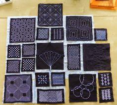 sashiko and other stitching: Loch Lomond Sashiko Guild