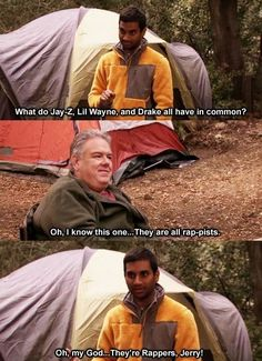 13. He doesn't understand jokes. | Parks And Recreation's Jerry Gergich Is The Most Annoying Person Ever
